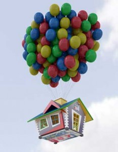 Repülő ház, a kreativitás diadala